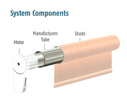 motorized system components